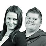 Digimarkkinoinnin asiantuntijat Hanne Pitkänen ja Janne Arola